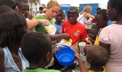 Aide aux orphelins en Afrique