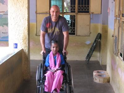 Action humanitaire en Inde