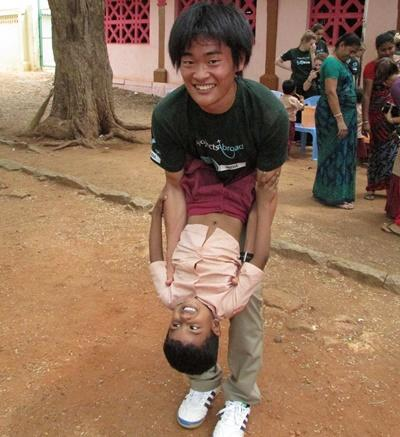 Aide à l'enfance en Inde
