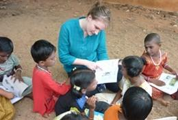 Mission humanitaire dans un orphelinat en Asie : Inde