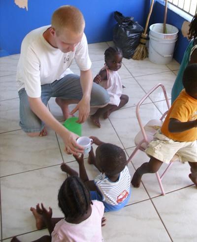 Aide à l'enfance jamaique