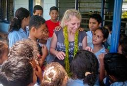 Missions humanitaires : Samoa