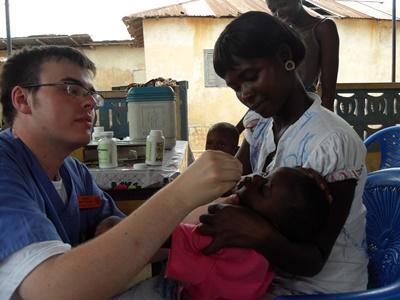 Volunteer VIH/SIDA centers in Ghana