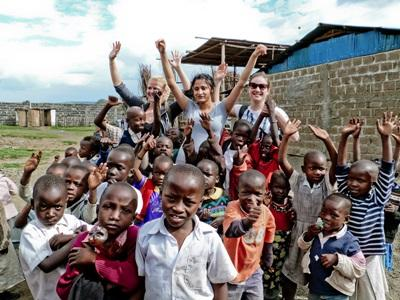 Volontaires en projet en Noël au Ghana