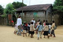 Etre volontaire à Madagascar avec Projects Abroad : Humanitaire &    écovolontariat
