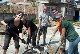 Missions de volontariat et stages au Népal : Reconstruction