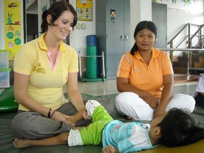 Mission de volontariat en kinésithérapie