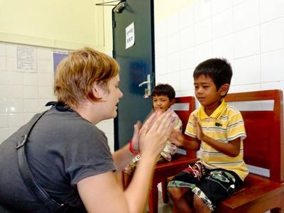 Kinésithérapie humanitaire en Asie