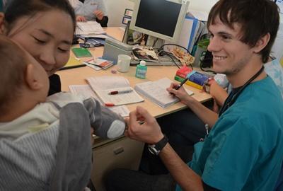 Volontaire stagiaire kinésithérapeute en Mongolie