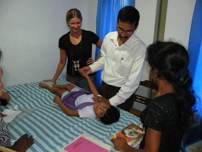 Volontaire kinésithérapeute en centre communautaire rural, Sri Lanka