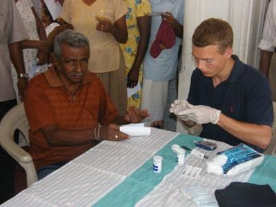Mission de volontariat en kinésithérapie en Asie