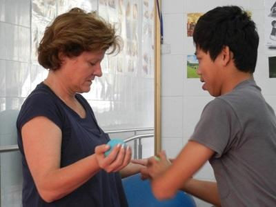 Mission kinésithérapie au Vietnam