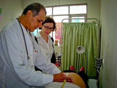 Volontaire medical en Bolivie