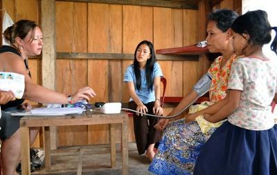 Médecine humanitaire au Cambodge