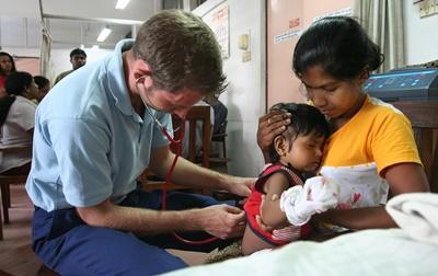 Stage médecine et infirmier au Sri Lanka