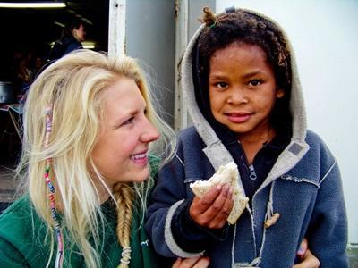 Volontaire en projet nutrition en Afrique du Sud