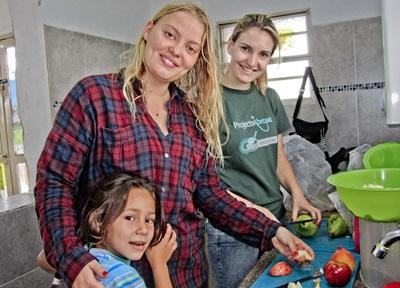 Volontaire en projet nutrition en Bolivie