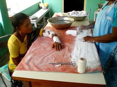 Stage soins infirmiers en Inde