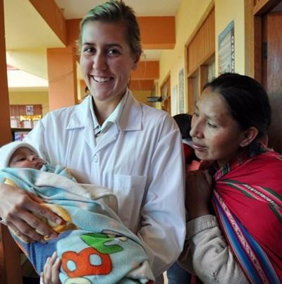 Infirmière humanitaire au Pérou