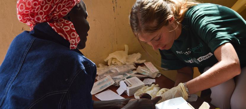 Missions et stages Santé & médecine