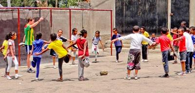 Volunteer Teaching Sports in Ethiopia with Projects Abroad