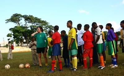 Sports volunteer in Jamaica