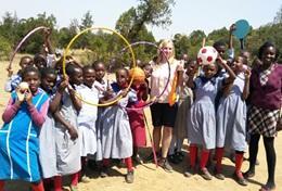 Professeur d'éducation physique bénévole à l'étranger : Kenya