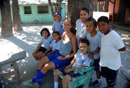 Professeur d'éducation physique bénévole à l'étranger : Costa Rica