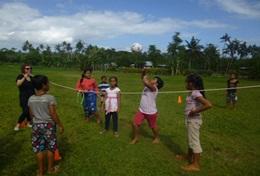 Professeur d'éducation physique bénévole à l'étranger : Samoa