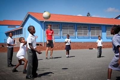 Enseigner le sport dans des écoles publiques