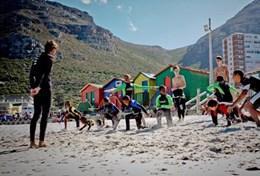 Encadrant surf et natation : Afrique du Sud