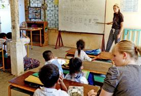 Volontariat en Amérique latine : Enseignement