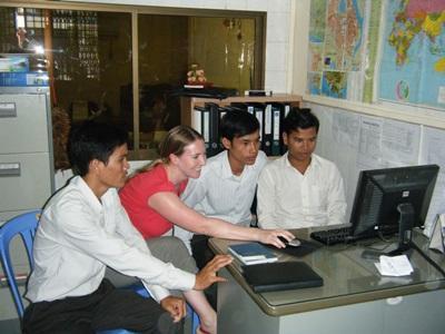 Consultant bénévole au Cambodge