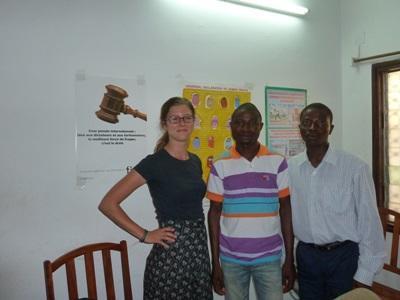 Juristes professionnels en mission au Togo