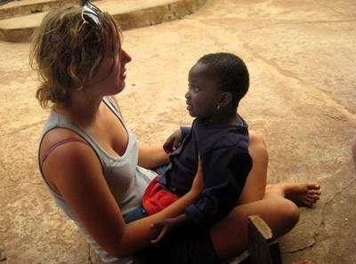 Action humanitaire Ghana