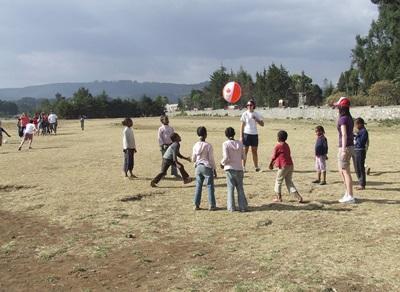 Volontariat enseignement sport Ethiopie