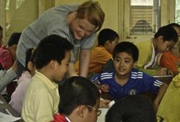 Missions de volontariat au Vietnam : Missions humanitaires