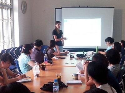 Assistante sociale volontaire au Vietnam
