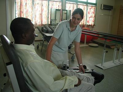Ergothérapeute professionnelle au Ghana