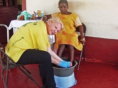 Volontaire ergothérapeute en maison de retraite de Mandeville