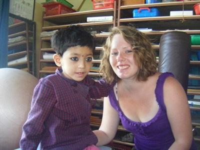 Ergothérapeute en mission en Asie