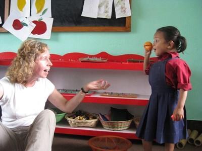 Volontaire ergothérapeute au Népal