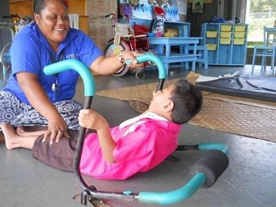 Kinésithérapeute au Samoa