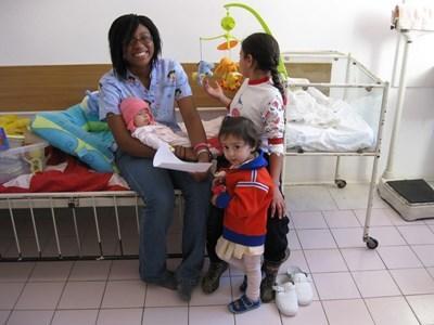 Action humanitaire médecine en Roumanie