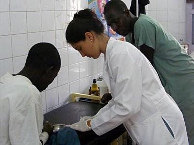 Action humanitaire médecine au Sénégal