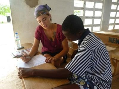 Volontariat humanitaire en orthophonie, Togo