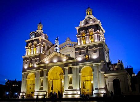 L'église de Cordoba en Argentine