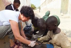 A photo from Projects Abroad - Senegal Facebook group, received from Erica