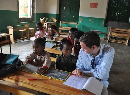 Notre tout nouveau projet enseignement à Madagascar