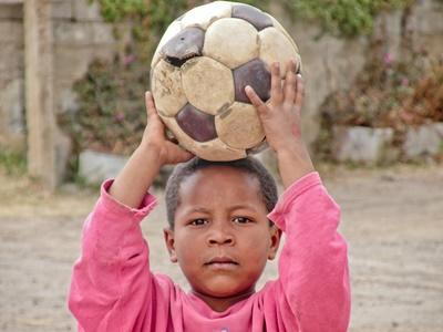 Aide humanitaire auprès des enfants ethiopiens
